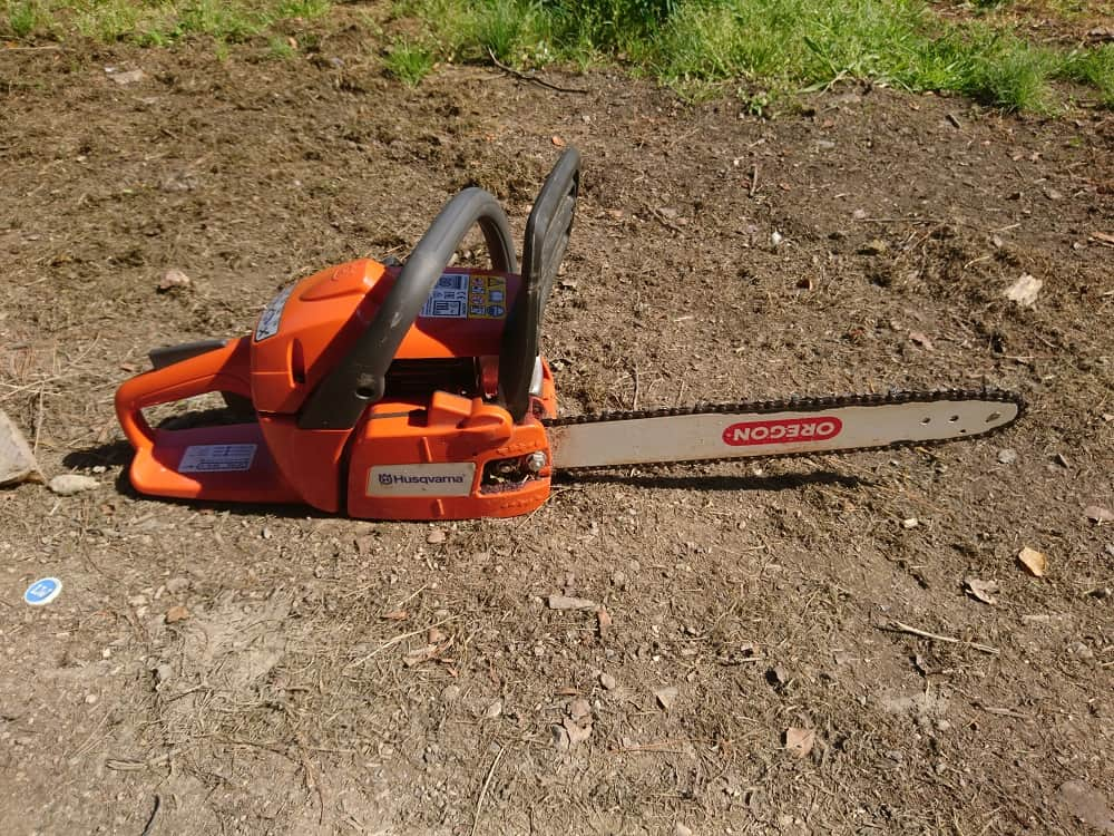 When a gas chainsaw is what is needed