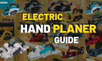 Best Electric And Cordless Wood Planer [Review]
