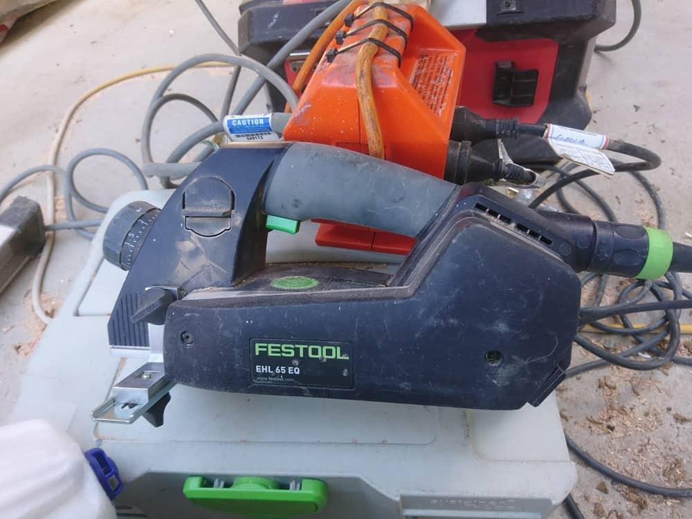 Festool corded planer 1