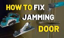How To Plane A Door [Stop From Jamming]