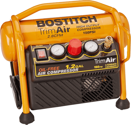BOSTITCH CAP1512-OF Oil-Free 1.2 Gallon 1.5 HP Trim Compressor