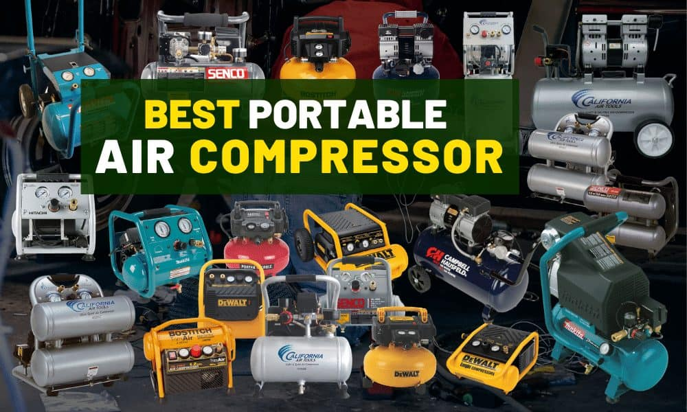 Best portable air compressor | The most quiet