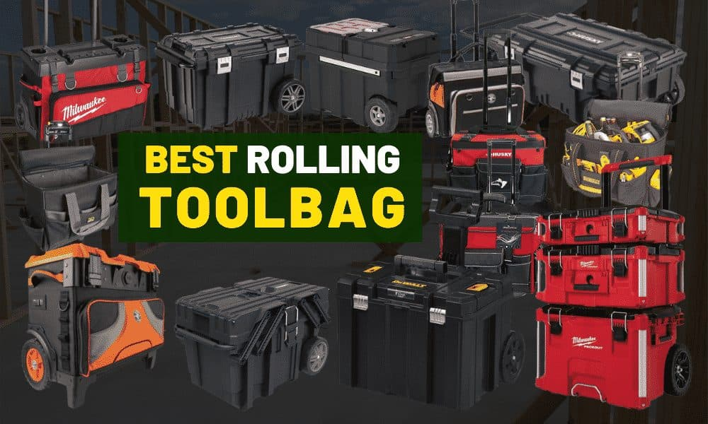 Best rolling tool bags & toolboxes
