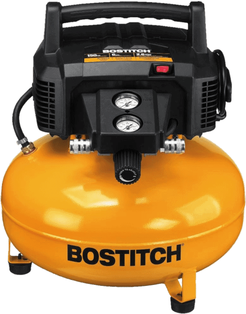 Bostitch BTFP02012 Oil-Free 0.8 HP 6 Gallon Air Compressor