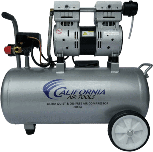 California Air Tools 8010A Oil-Free 2HP Quiet 60 Decibels Portable Air
