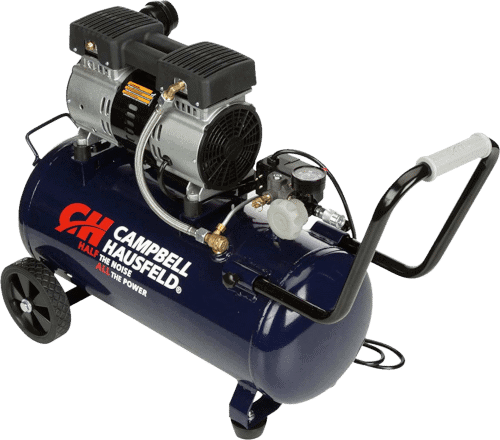 Campbell Hausfeld DC080500 1.0 HP 8 Gallon Portable Quiet 68 Decibels Air