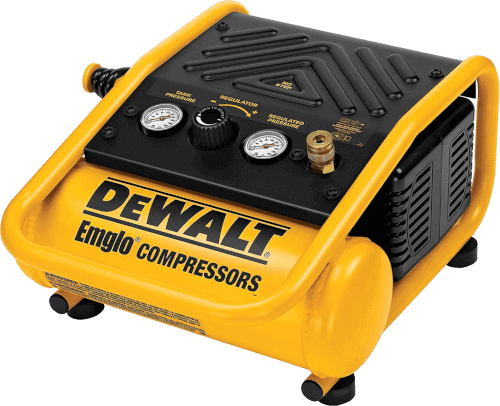 DEWALT D55140 1-Gallon 71 Decible Trim Compressor
