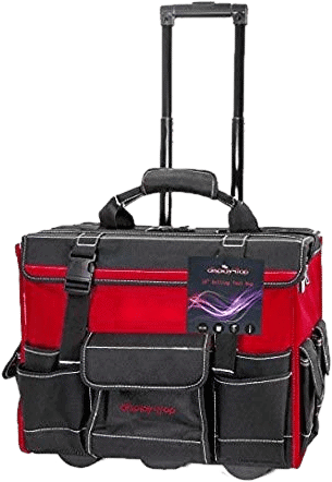 Display4top Rolling Tool Bag with Handle 18-Inch
