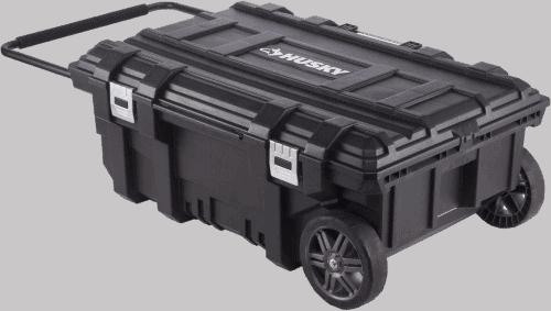 Husky B00U4KKO8Y Mobile Rolling Tool Box