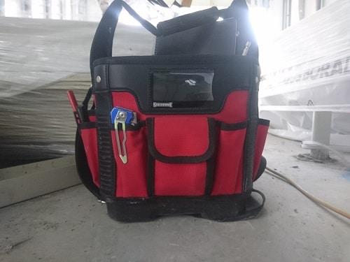 Plastic Bottom Tool bag