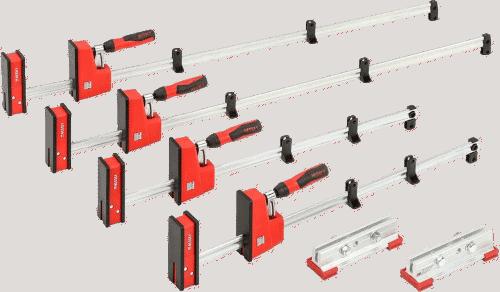 Bessey KREX2440 REVOlution Clamp 4 clamp kit