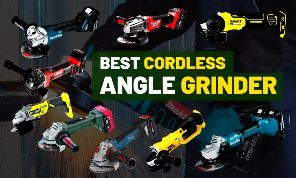 Best cordless angle grinder [For cutting metal & concrete]