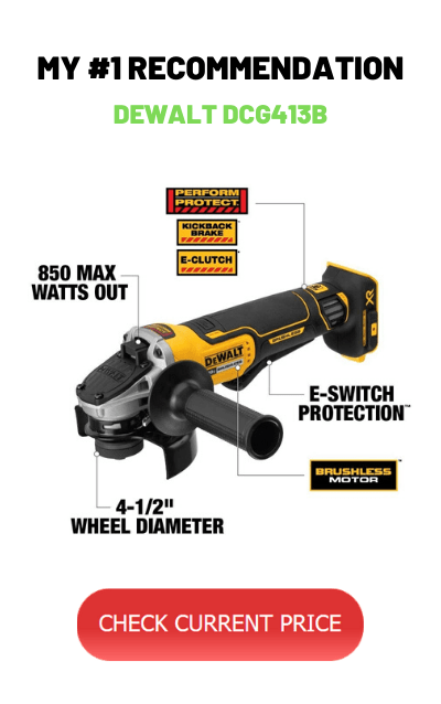 Top Cordless Angle Grinder