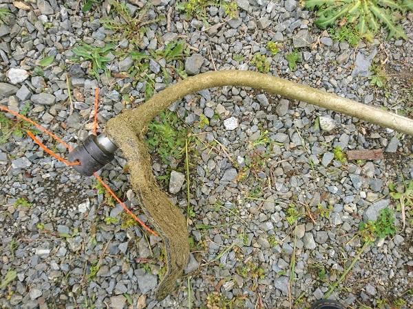 Curved Trimmer Shaft