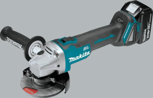 Makita XAG04Z 18V 4.5-Inch Cordless Angle Grinder Brushless