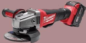 Milwaukee M18 FUEL 4.5 5 Inch Angle Grinder Brushless Kit