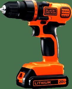 BLACK+DECKER 20V Cordless Drill