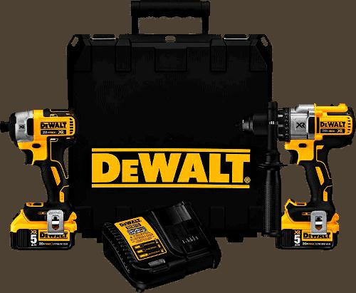 DEWALT DCK299P2 20V Brushless Cordless Drill And Impact Driver Kit