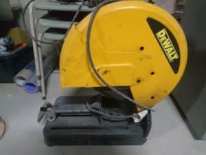 Dewalt Cut Off Chop Saw