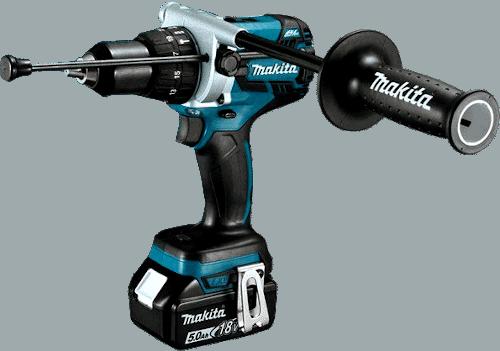 Makita XPH07TB 18V Brushless Cordless Drill Kit