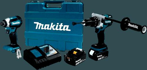 Makita XT267T Brushless Cordless Drill And Impact Driver Kit (5.0Ah)