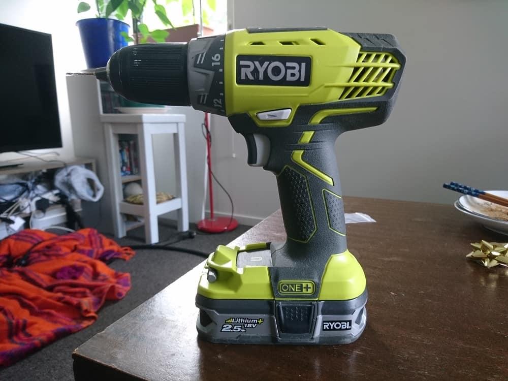 Ryobi DIY cordless drill