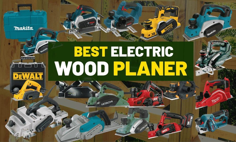 Best cordless wood planer | Is Makita the most powerful?