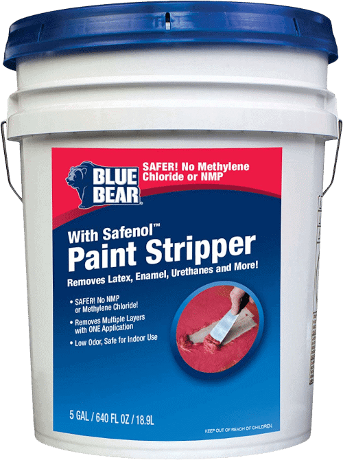 Blue Bear Paint Stripper with Safenol