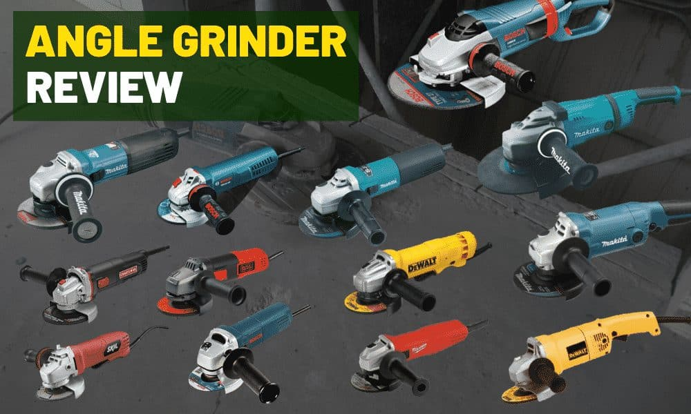 Corded angle grinder reviews | Best 4.5 and 9 inch electric grinder