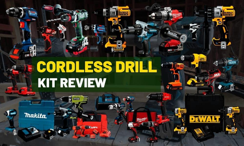 Best cordless drill & Impact driver | Makita vs. Dewalt