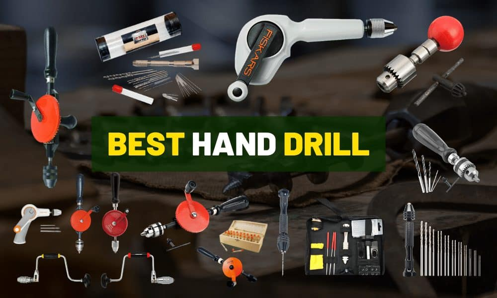 Best manual hand drill | For DIY craft & woodworking