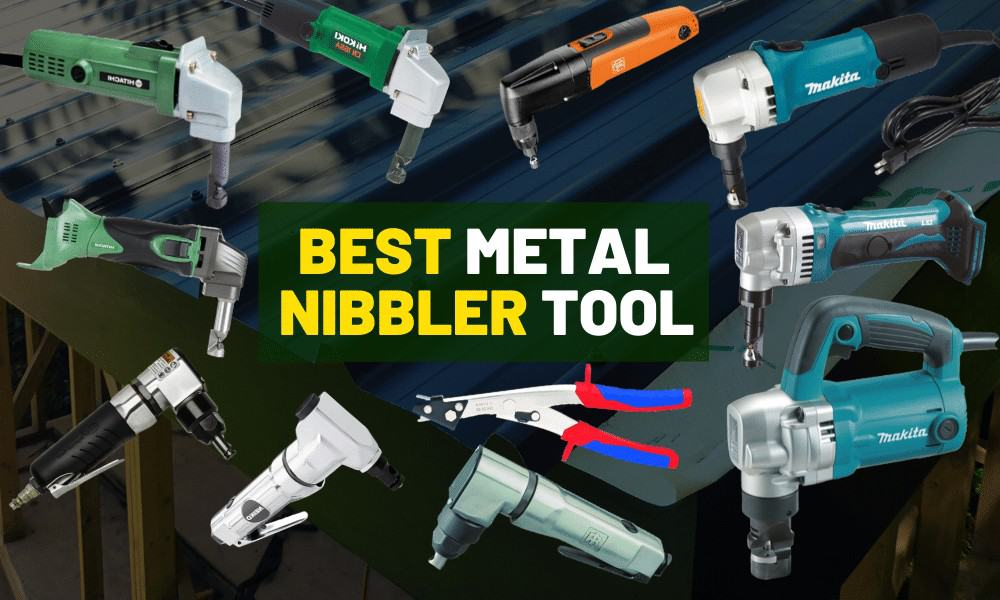 Metal nibbler tool review | Electric, cordless, Air or drill attachment?