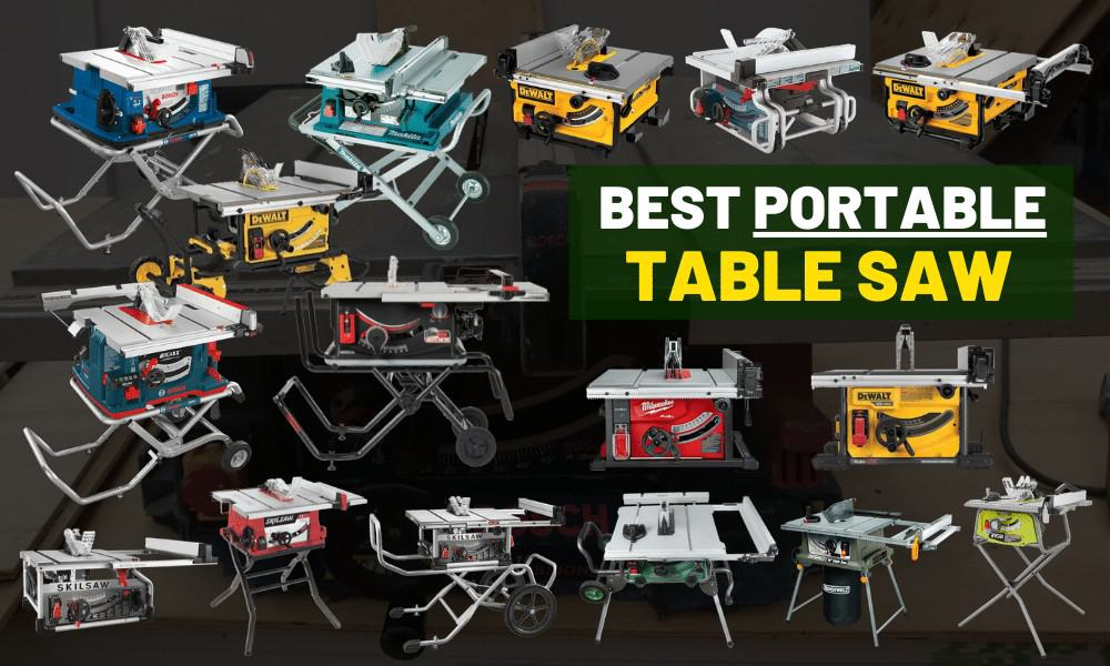 Safest portable table saw review [Emergency break]