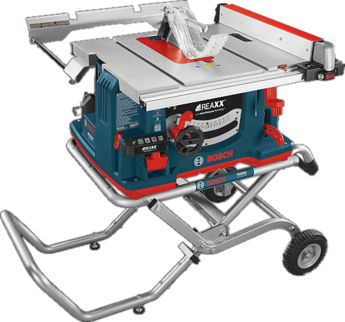 Bosch GTS1041A 09 Safe Flesh Detecting Portable Table With Stand