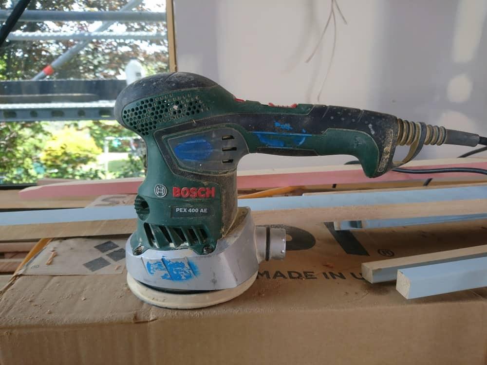 Bosch corded palm sander