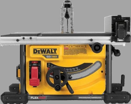 DEWALT DCS7485B FLEXVOLT 60V Cordless Table Saw 8 1 4 Inch