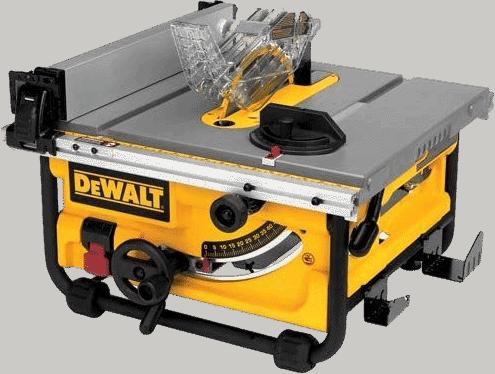 DEWALT DWE7480 10 Inch Compact Table Saw