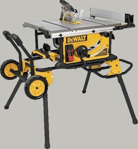 DEWALT DWE7491RS Builders 10 Inch Portable Table Saw