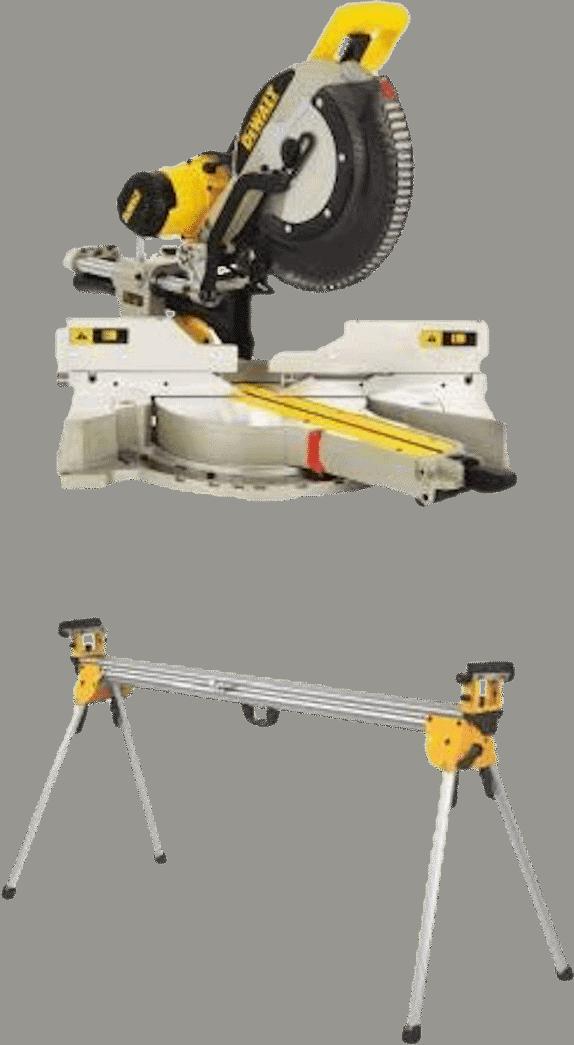 DEWALT DWS780 12 Inch Compound Miter Saw with Folding Stand