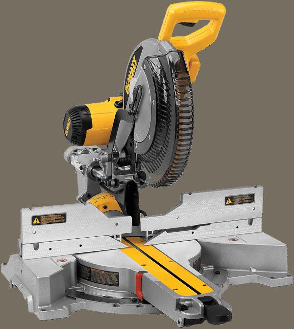 DEWALT DWS780 Sliding Compound Miter Saw with Laser
