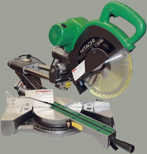 Hitachi C10FSHPS Sliding Compound Saw with Laser