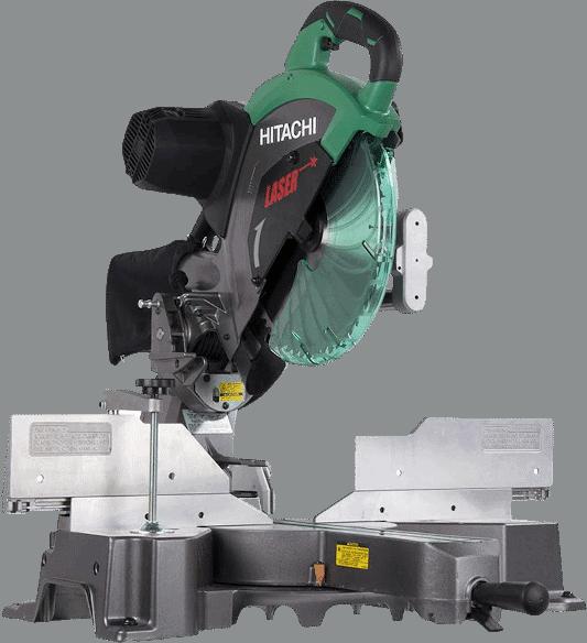 Hitachi C12RSH2 15 Amp Sliding Miter Saw with Laser