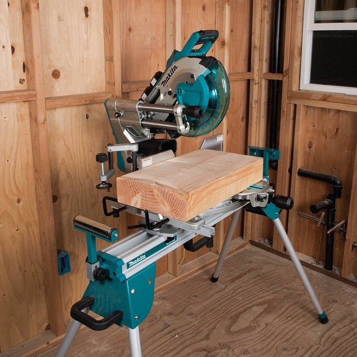 Makita Cordless Miter Saw On Stand
