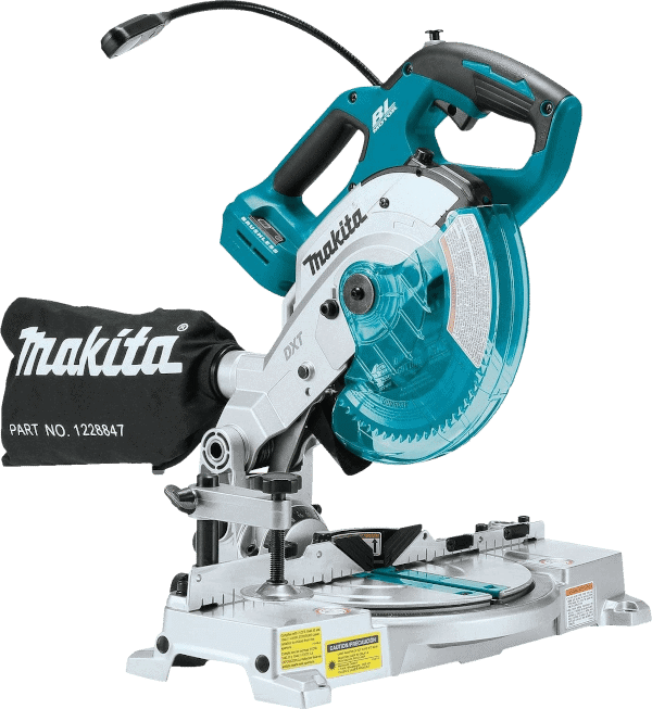 Makita XSL05Z Brushless Cordless 6 1 2 Inch Compound Miter Saw with Laser