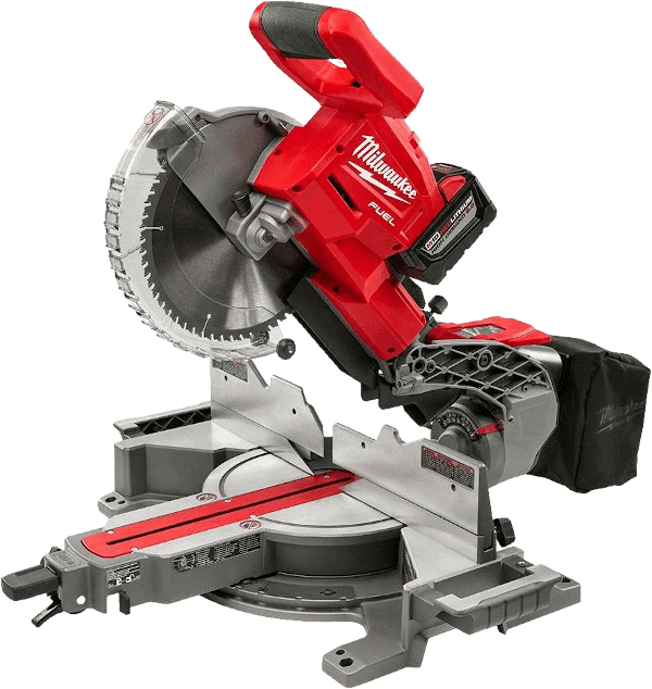 Milwaukee 2734 21HDP 10 Inch Cordless Compound Miter Saw Kit