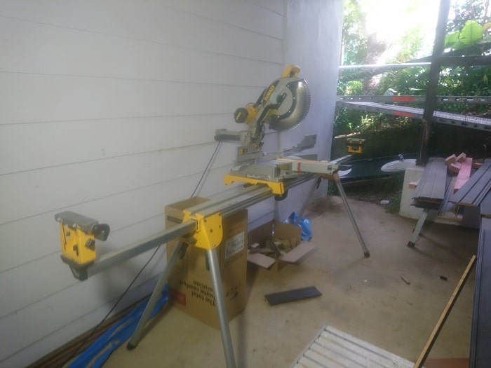 Portable Miter Saw With Folding Stand