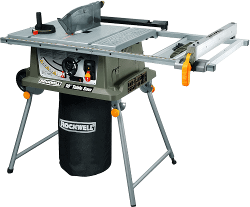 Rockwell RK7241S DIY Table Saw with Laser