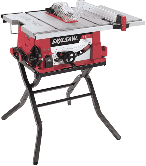 SKIL 3410 02 10 Inch Portable Table Saw With Folding Stand