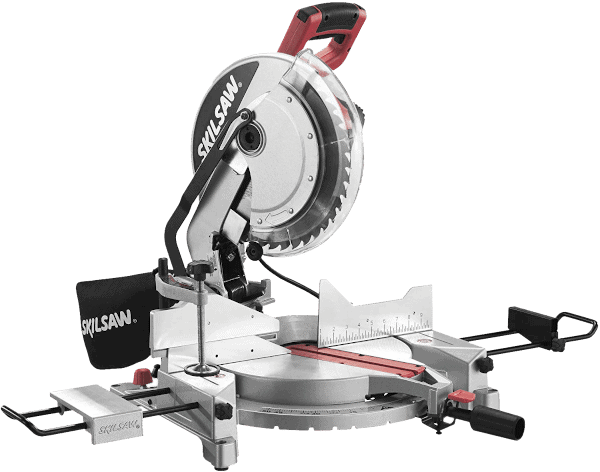 SKIL 382101 Single Bevel Compound Miter Saw with Laser
