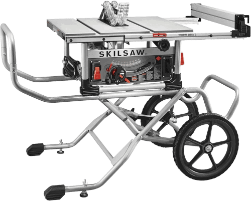 SKILSAW SPT99 11 10 Inch Worm Drive Table Saw with Stand